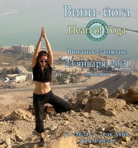 Виньяса-йога в Фишке - вводный урок